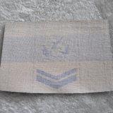 Les étiquettes tissées 100%Polyester Insigne de l'épaule pour les vêtements