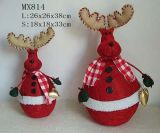 Decoración de Navidad - Moose canasta (MX814)