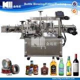 Máquina de etiquetado adhesiva lateral doble de la alta calidad para redondo