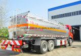 25000 litros de FAW 10 ruedan 25 toneladas de aluminio de la aleación de gasolina de carro del depósito