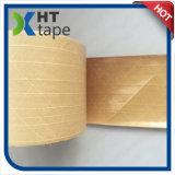 A fibra reforçou a fita adesiva do papel de embalagem