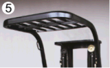 高いコストパフォーマンスACモーター1t 3車輪の電気フォークリフト