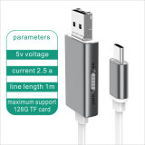 Câble usb de disque du véhicule U d'OTG pour l'iPhone, Samsung