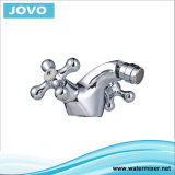 Bidet simple Mixer&Faucet Jv74002 de traitement de corps de zinc