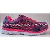 La maille chausse des chaussures de tissu pour des dames