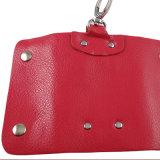 Cadeau de promotion Cadeau en cuir véritable en cuir véritable titulaire de clé de voiture