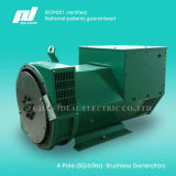 4-Pole 50 / 60Hz (1500 / 1800rpm) High-Efficiency Brushless Generator