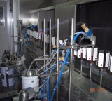 Staubfreie automatische beschichtende UVfarbspritzpistolen/Farbanstrich-Pflanze für Plastikteile