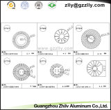 Het Profiel Heatsink van het Aluminium van de Deklaag van Zhilv van Guangzhou