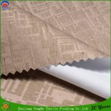 Tissu imperméable à l'eau de rideau tissé par tissu de toile en rideau en arrêt total de franc de rideau en polyester