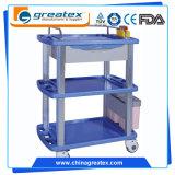 Fabrik-direkte Krankenhaus-/Friseursalon-Gerät ABS materielle medizinischer Gebrauch-Laufkatze