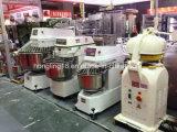 Luxo 260L misturador de massa de pão espiral de 100 quilogramas no equipamento da padaria