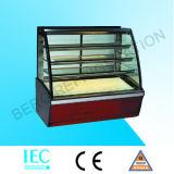 Quadratischer Kuchen-Kühlraum mit weißem Marmor