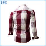 Camicia del cotone degli uomini poco costosi all'ingrosso di modo