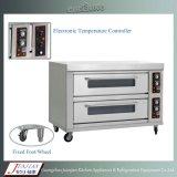 Gas/elektrischer Pizza-Ofen mit Steinunterseite