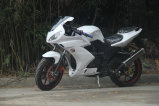 Ar R2 de refrigeração competindo a bicicleta da velocidade da motocicleta