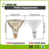 UL 승인되는 고성능 LED 스포트라이트 9W 15W 20W LED 동위 빛