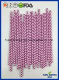 党装飾のEcoの友好的な紫色のペーパーわら