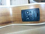 Новый электрический Ukulele тенора Koa с гитарой UK300t малой акустической
