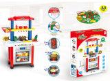 Дети играют будто Toy игрушка с электроприводом кухня для приготовления пищи в таблице (H1055003)
