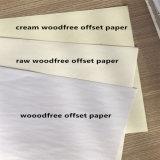 55-120GSM du papier offset blanc et crème avec un bon prix