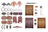 중국 작풍 강철 플레이트 문 디자인