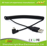 USB2.0 het micro- de USB Gerolde Laden van de Kabel Draad van de Macht