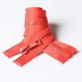 Застежка -молния отлитая в форму #5 пластичная куртки беступиковое O/E