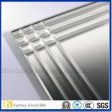 3mm 4mm Seite löscheneins bereifte Säure geätzten Aluminiumspiegel mit Sicherheits-Schutzträger