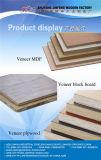 1220*2440mm folheado de madeira de teca QC Natural MDF