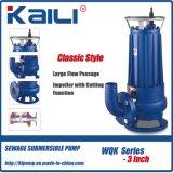 2 ' WQKの下水の切断装置が付いている浸水許容の水ポンプ