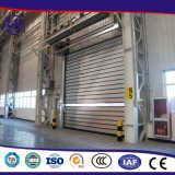 Heißes Verkaufs-eindeutiges Entwurfs-Turbine-Bewegungsmetallaluminiumwalzen-Tür