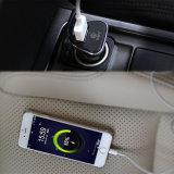 Adaptador rápido rápido del vehículo del cargador 9V 2.5A 5V 3A del coche del USB de QC3.0 15W para el teléfono de Moblile