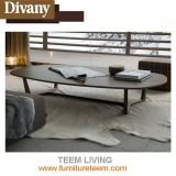 家具の純木の足のSofa&Bedホーム側面表の円形のコーヒーテーブル