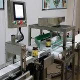 Pesagem automática e rejeitando a máquina