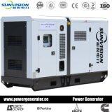 супер молчком тепловозный комплект генератора 40kVA с двигателем Perkins