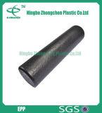 Rouleau supplémentaire à haute densité de mousse de yoga de forme physique de rouleau de yoga de mousse de PPE de société