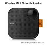 Bluetooth 소형 나무로 되는 무선 스테레오 스피커