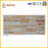 Azulejo esmaltado de cerámica rústico de la pared exterior con la ISO