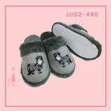 Hot Sale Wonmen Plush Knit Indoor Soft Bedroom Chinelo