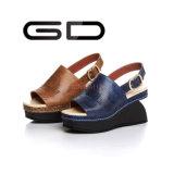 La mode de Gdshoe coince les chaussures en cuir de santal