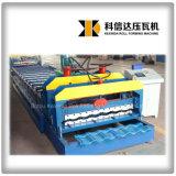 Mattonelle di tetto lustrate Kxd-1080 di colore che formano il laminatoio di fogli del tetto lucidato alla macchina