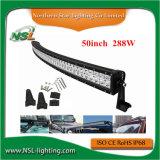 Guide optique tous terrains incurvé par CREE léger de pouce 288W EMC Emark de la barre 50 d'éclairage LED de véhicule de barre de DEL pour le véhicule