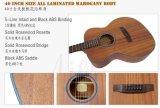 Оптовая торговля фанера акустическая гитара из Aiersi заводе (SG01мм-40)