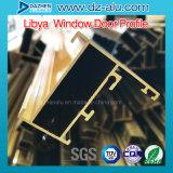 Windowsの開き窓の引き戸のためのリビアのアルミニウムプロフィール