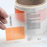 PVC 투명한 공백 인쇄 인쇄 포장 접착성 스티커 레이블