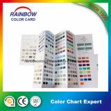 Carta de cor de Pantone da impressão do livro para o sistema da pintura da parede