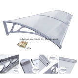 Bricolage Outdoor Small Polycarbonate Awning Rain Protection pour Windows (YY600-C)
