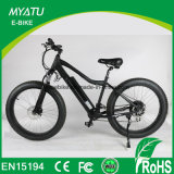 Grasa eléctrica de la bici del crucero E de la bici de la playa con el neumático gordo
