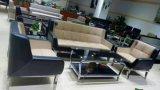 Sofá moderno del café de la silla del hotel del sofá de la oficina del diseño popular del ocio del diseño de la promoción en las existencias 1+1+3